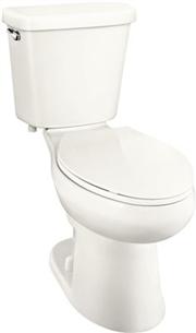 1.0 GPF Toilet Premier Elongated HET with Comfort Height Slow Close Seat