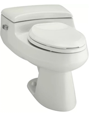 1.0 GPF One-Piece Comfort Height Elongated Toilet
