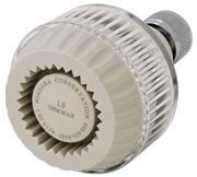 Very Economical Chrome/White 1.5gpm(gallon per minute) Water Saving Shower Head