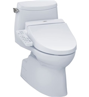 Carlyle II 1G Washlet + C100 One Piece Toilet 1.0 GPF by TOTO