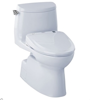 Caryle II 1G Washlet S350e One Piece Toilet 1.0 GPF by TOTO