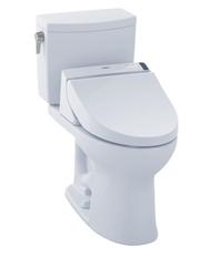 Drake II 1G Washlet + S300e Two Piece 1.0 Toilet by TOTO