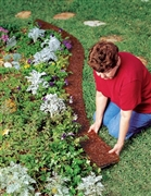 Edge Border Recycled Rubber Mulch Mat by Conserv-A-Store