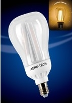 ACL-7W Frosted or Clear Shatter Resistant Long Lasting LED Bulb