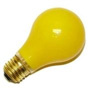 Yellow Bug 25 Watt Long Life Incandescent Light Bulbs  2 Pack  20,000 Hrs