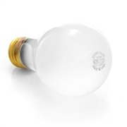 100 Watt Long Life Incandescent Light Bulbs (Clear or Frosted) - 20,000 Hrs, 6 Pack