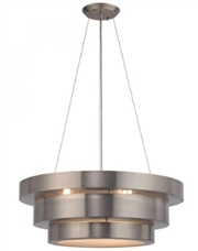 Inverted Cake Layers LED Light Fixture