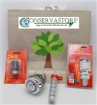 Sav-Eco Water and Energy Conservation Beginner Kit by Conserv-A-Store