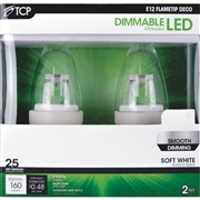 TCP E12 flametip led deco bulb